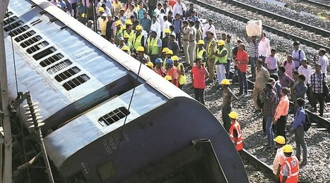 Rough ride: 100 Western Railway services cancelled after coach derails - The Indian Express | Railway's derailments and accidents | Scoop.it