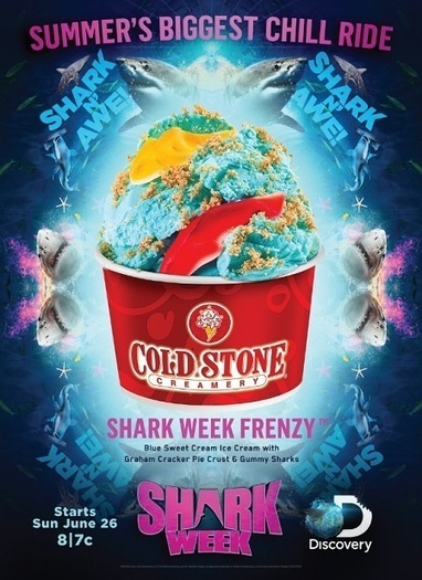 Cold Stone Creamery kicks off Jawesome - shark week frenzy - A Beauty Feature | A Beauty Feature | Scoop.it