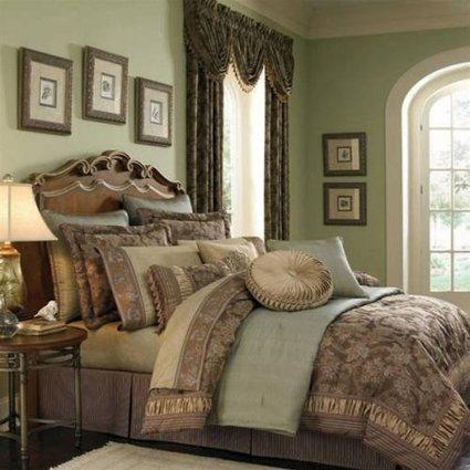 shopbrownsale: !~ Find Best Price Croscill Marcella Queen Comforter Sets . | bedding comforter sets | Scoop.it
