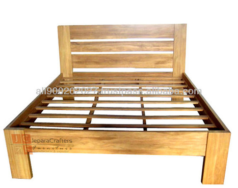 Bedroom Furniture Minimalist Teak Wood Beds Models, View Teak Wood Beds Models, TEAK BED MINIMALIST JAKARTA Product Details from CV. JEPARA CRAFTER FURNITURE on Alibaba.com | Teak wood furniture | Scoop.it