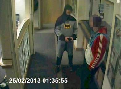 'Batman' Turns Robbery Suspect Over To Police In The UK | Littlebytesnews Current Events | Scoop.it