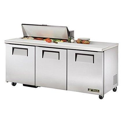 True 2-Door 10-Pan 19 Cu Ft S/S Sandwich & Salad Unit | Custom Wood Garage doors | Scoop.it