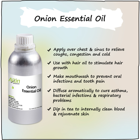 Unleash the Innumerable Benefits of Onion Essential Oil | Allin Exporters | Scoop.it