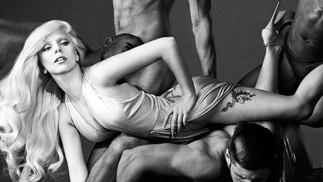 Lady Gaga Hangs With Naked Dudes In New Eau De Gaga Fragrance Campaign | Fragrance News and More | Scoop.it