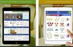 Educational Technology and Mobile Learning: Handouts- A Great App for Creating, Collecting and Grading Assignments Paperlessly | Go Go Learning | Scoop.it