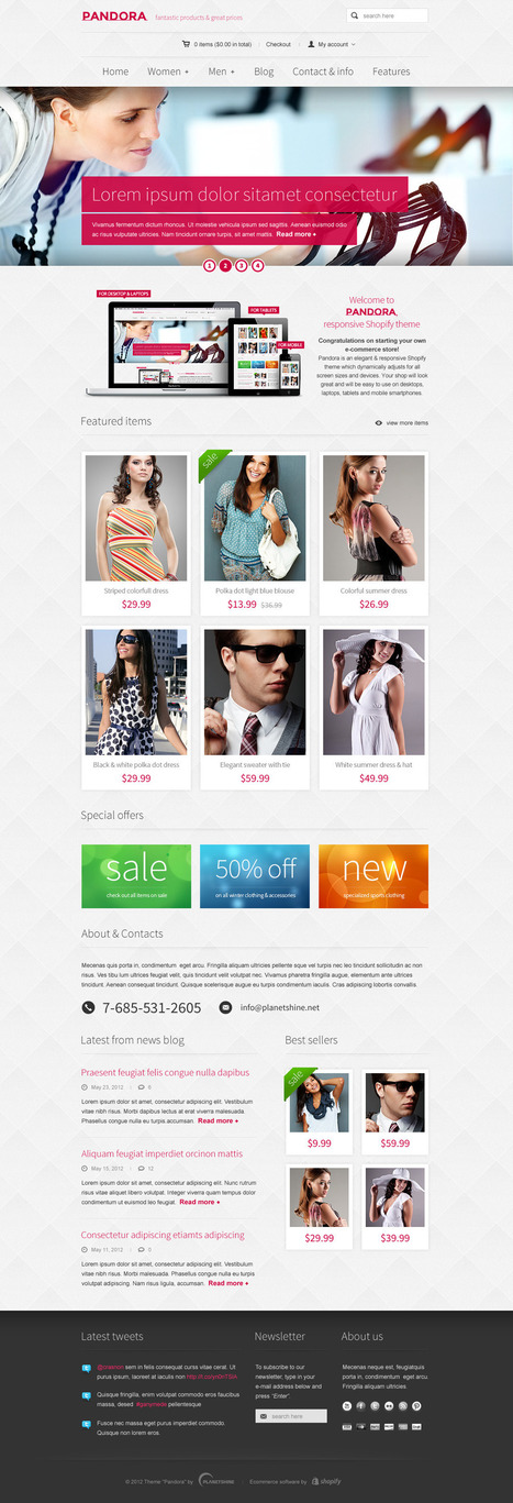 15+ High-Quality responsive wordpress themes with flat design | BestDesignTuts | Web Design & Development | Scoop.it
