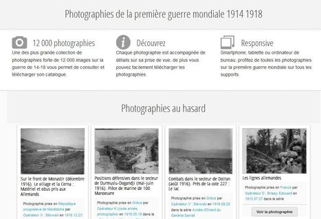 Photographie de la guerre de 1914-1918 | Nos Racines | Scoop.it