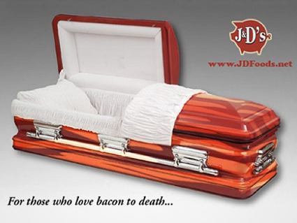 How to Spend My Mega Million Winnings: The Bacon Coffin? - CNBC.com (blog) | Bacon Love | Scoop.it