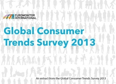 Global Consumer Trends Survey 2013: Extract of Results | CONSUMER TRENDS | Scoop.it