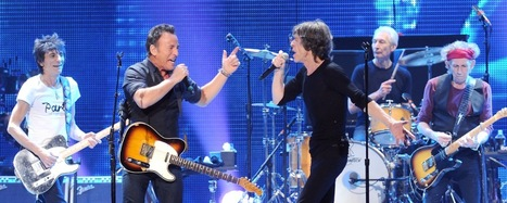 The Rolling Stones cerró su 2012 en Nueva Jersey con The Black Keys y Bruce Springsteen | Política & Rock'n'Roll | Scoop.it