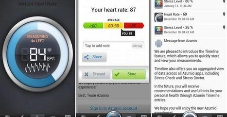 Instant Heart Rate, app móvil gratuita para medir las pulsaciones | Aplicaciones móviles: Android, IOS y otros.... | Scoop.it