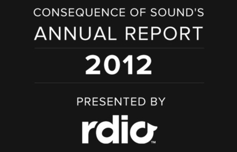 Readers' Poll 2012 | Consequence of Sound | MUSIC CONTENTS | Scoop.it