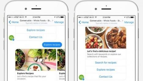 Retail : les chatbots au service de l'expérience consommateur. | Référencement internet | Scoop.it