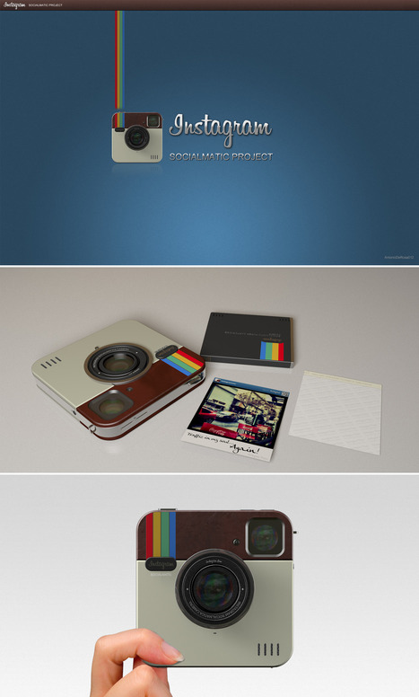 #polaroid + #instagram gran idea. ¿Objeto de culto? | creatividad sin límites | Scoop.it