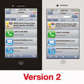 CoolOffersMobi: I will design you an iPhone business card for $25 (Las Vegas) | las vegas professionals | Scoop.it