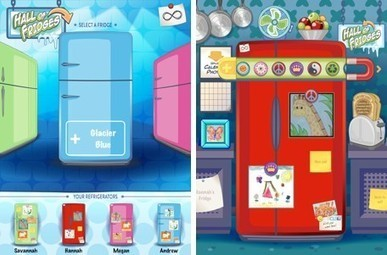 Daily iPad App: Infinite Refrigerator stores your child's refrigerator art | iPhones and iThings | Scoop.it