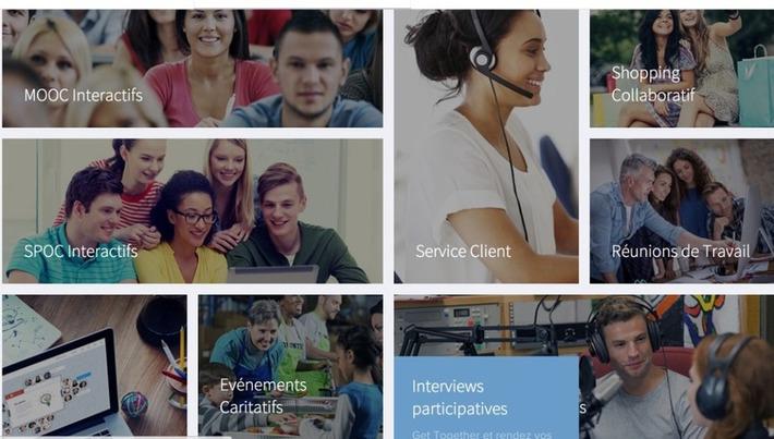 Glowbl. Plateforme de travail collaboratif par vidéoconférence - Les Outils Collaboratifs | TIC et TICE mais... en français | Scoop.it