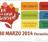 Fa' la cosa giusta! A Milano torna l'attesissima fiera del consumo critico e degli stili di vita sostenibili   Fa' la cosa giusta! 2014   Scoop.it