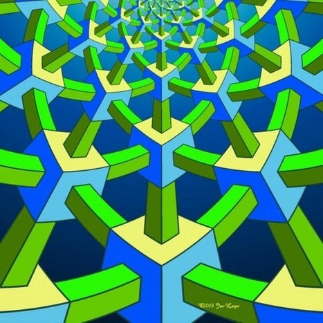 The Impossible Geometry of Jos Leys | An Optical Illusion | The brain and illusions | Scoop.it
