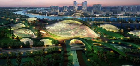 EcoArchitecture - Tianjin Eco-City | All Things Geography | Scoop.it