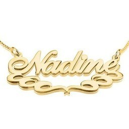 Imaginatively Fanciful Name Necklaces as Gifts | Jeweleen - Dazzling Fashion Jewelry | Scoop.it