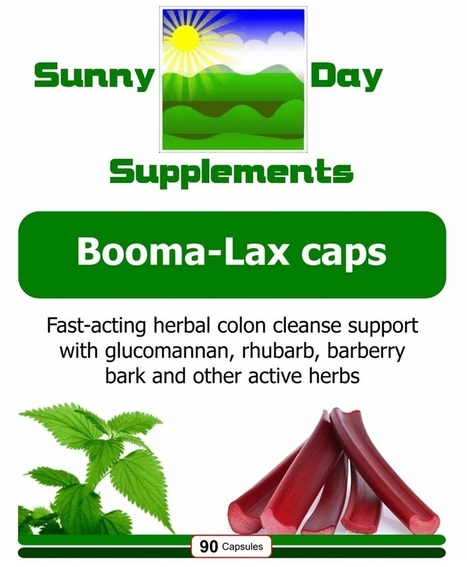 Booma-Lax caps | Sunny Day Herbal Supplements, Buy Now & Jesus Saves | Scoop.it