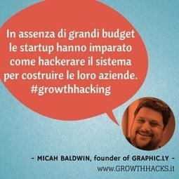 Growth Hacking: marketing non convenzionale per startup. | Growth Hacking Italia | Scoop.it