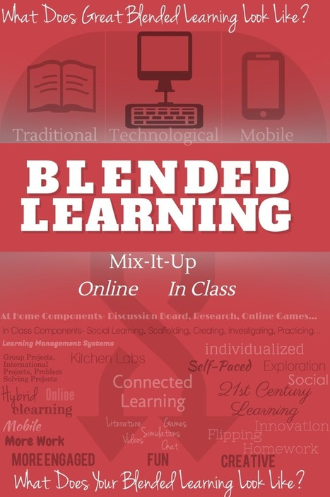 What Does Great Blended Learning Look Like - e-... | Educación híbrida | Scoop.it