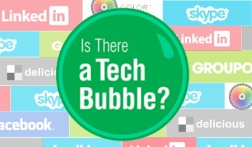 INFOGRAPHIC: Is there a Tech Bubble? | GPlus.com | Social Media Marketing Superstars | Scoop.it