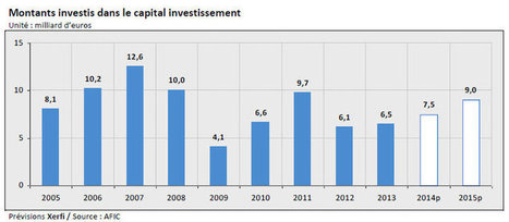 Capital investissement : 9 milliards d'euros seront investis en France en 2015 | VC and IT | Scoop.it