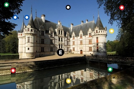Visite virtuelle d'#Azay-Le-Rideau - Ecole de Druye (37) | Arts et FLE | Scoop.it