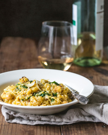 Roasted Cauliflower Risotto | a Couple Cooks | À Catanada na Cozinha Magazine | Scoop.it