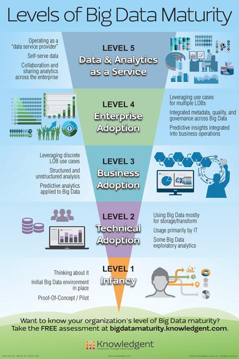 Cloud Infographic: Levels Of Big Data Maturity - CloudTweaks.com | Big data | Scoop.it
