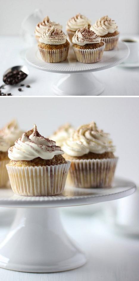 #Recipe - Cupcakes de tiramisú | Bakery | Scoop.it