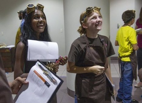 Science and math get a steampunk twist at UT camp - Knoxville News Sentinel | CLOVER ENTERPRISES ''THE ENTERTAINMENT OF CHOICE'' | Scoop.it