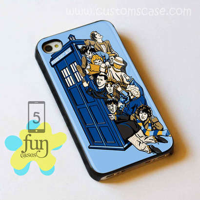 Dr Who Tardis Blue Police Box iPhone 5 Case Cover from Funcases | Sport Merchandise | Scoop.it