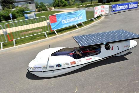 Voiture solaire ! | Photos de LYonenFrance | LYFtv - Lyon | Scoop.it