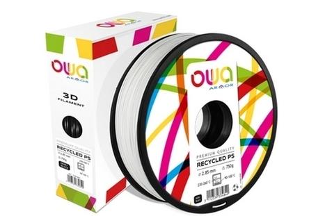 OWA 3D : imprimer en 3D avec du plastique recyclé et recyclable | EFFICYCLE | Scoop.it