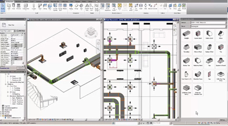 How To Fill The Gaps In A Revit Fabrication Model With Route & Fill Tool In Revit 2017 | BIM Forum | Scoop.it