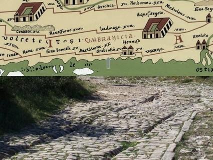 Carte de Peutinger interactive : itinéraire sur les voies romaines - Civilisations antiques, grecques et romaines: actualités et découvertes | Histoire et Archéologie | Scoop.it