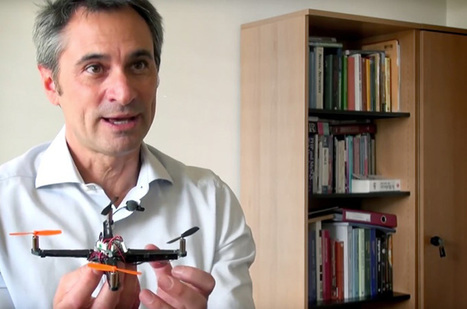 Flying robots, with Dario Floreano (Part two) | Robohub | Robots in Higher Education | Scoop.it