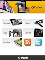 YuDu: Nieuwe app is showroom voor wat er nu mogelijk is met digital publishing | Tablet publicaties maken | Scoop.it