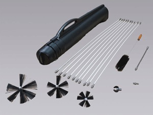861710 - Nikro Deluxe Dryer Vent Rotary Brush Kit - Hyorel Janitorial Supply   Janitorial and Restoration Supplies   Scoop.it