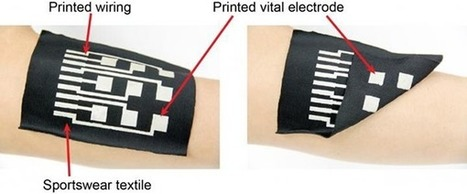 Flexible Wiring to Make Garments Into Body Sensors   Dispositifs Médicaux - Medical Devices   Scoop.it