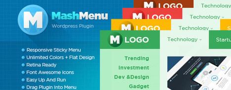 MashMenu - Wordpress Easy Mega Menu Plugin | Designrazzi | Premium Themes Download | Scoop.it