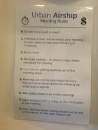 9 unusual, effective rules for successful meetings | Art of Hosting | Scoop.it