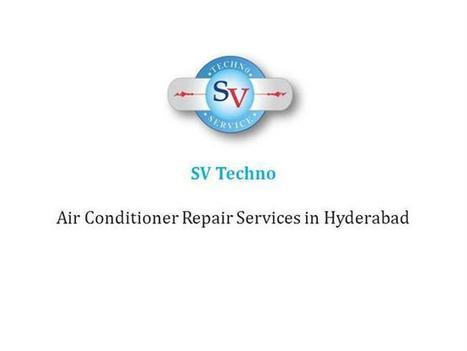 AC (Air Conditioner) Service Centre in Hyderabad Ppt Presentation | Home Appliances Repair and Service Center in Hyderabad | Scoop.it