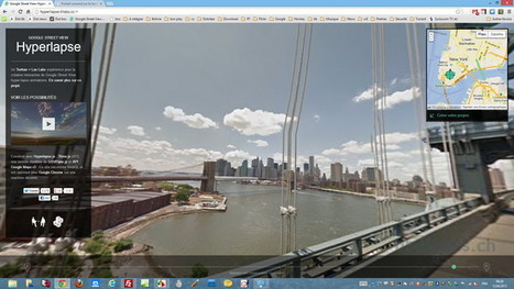 Google Street View Hyperlapse - Les news de libellules.ch | Output | Scoop.it