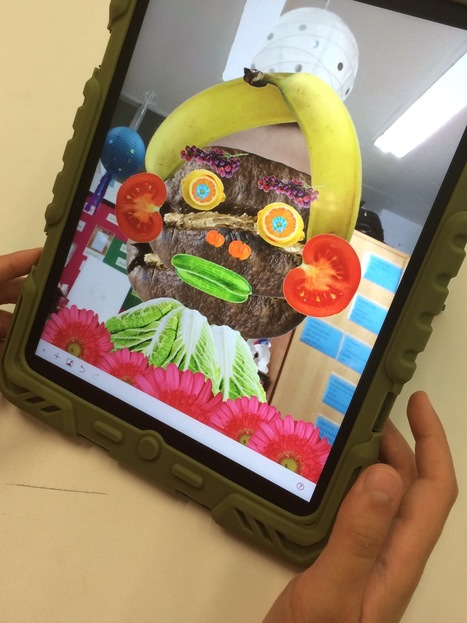 Salad Selfies & Art History | iPad Art Room | Edtech PK-12 | Scoop.it