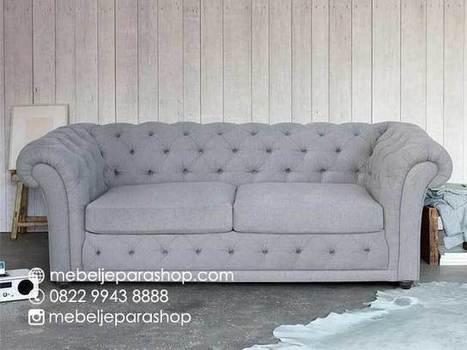 Sofa Ruang Keluarga Model Chesterfield | Minimalis Jepara | Mebeljeparashop | Scoop.it